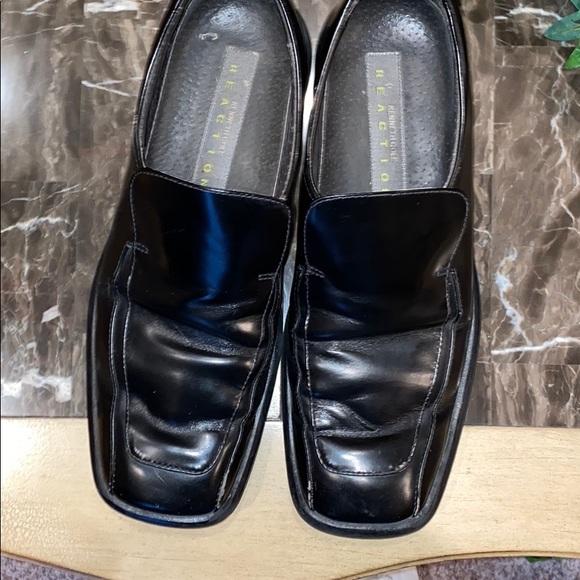 Black Kenneth Cole Reaction Slip on Shoes